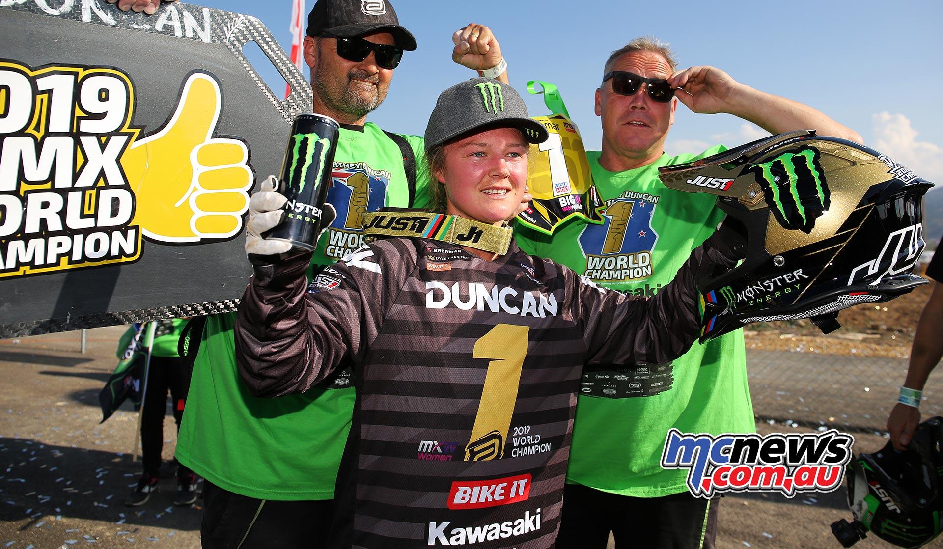 Courtney Duncan WMX Champ