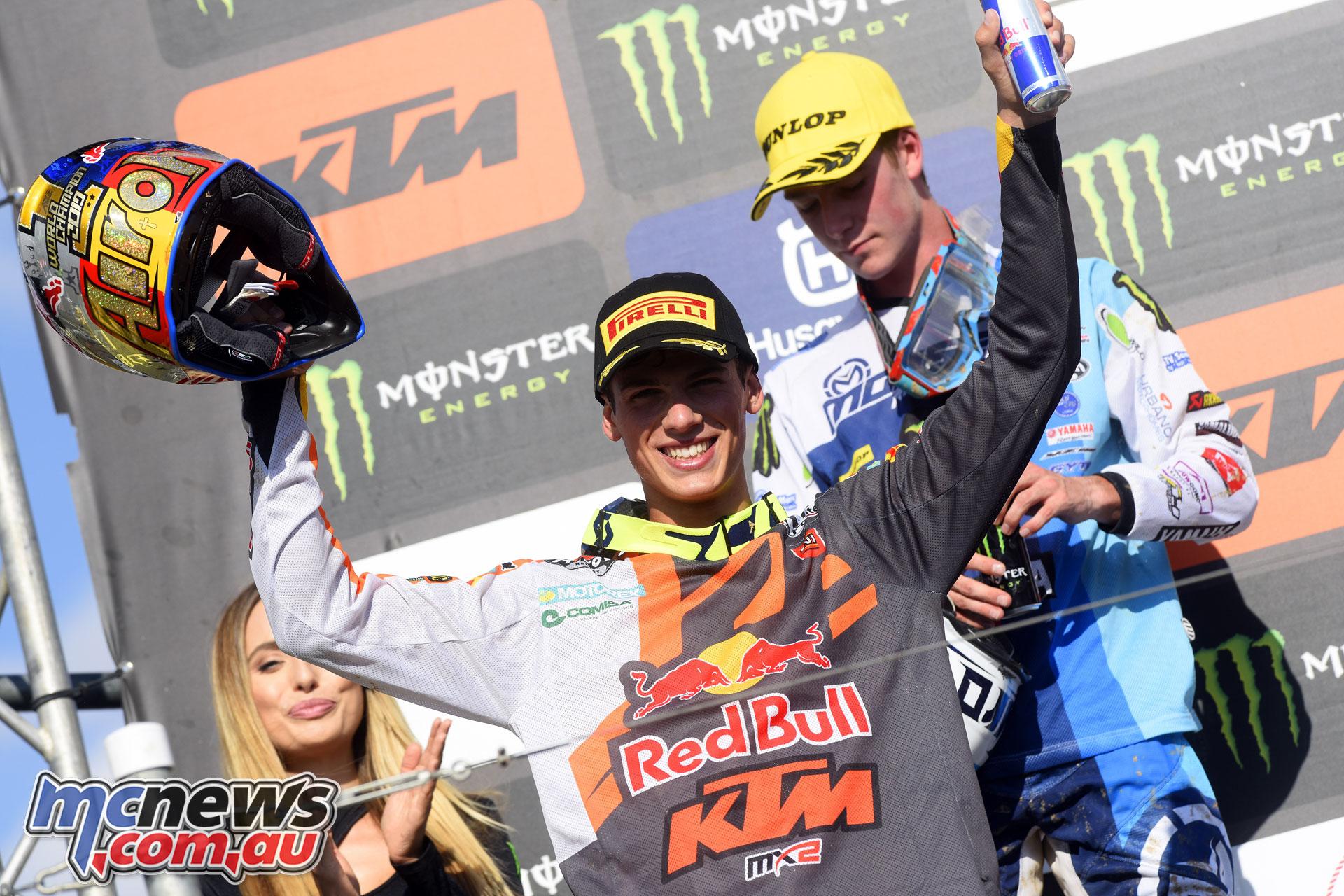 MXGP Rnd Turkey MX Prado podium
