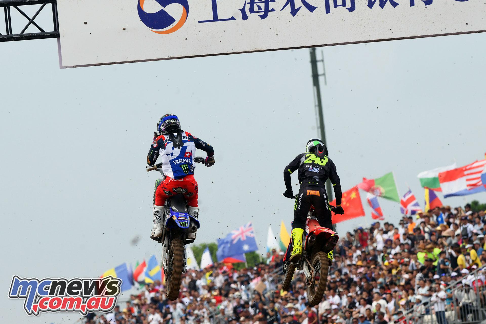 MXGP Rnd China Shanghai MX Seewer Gajser action