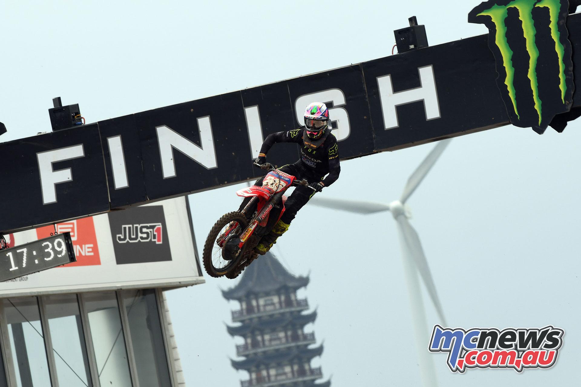 MXGP Rnd China Shanghai MX Gajser action