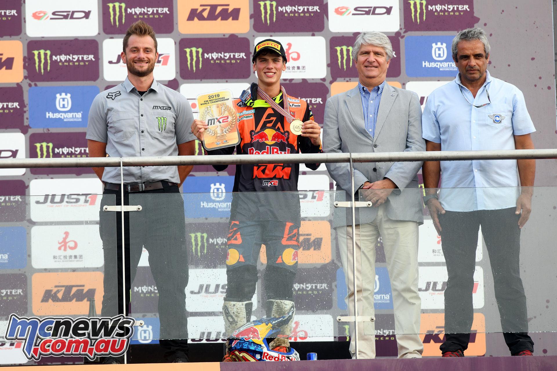 MXGP Rnd China Shanghai MX Prado podium championship
