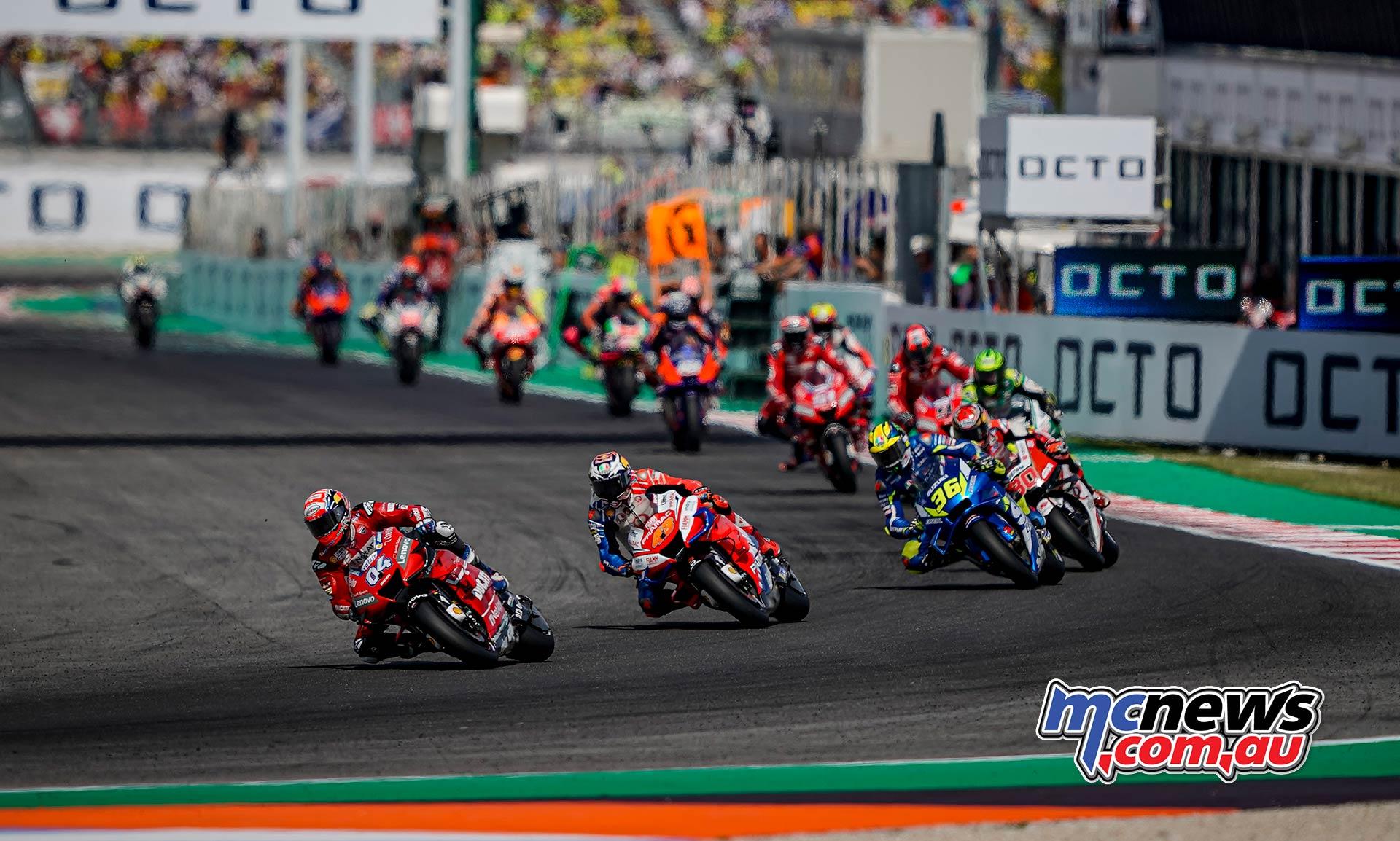 MotoGP Rnd Misano Dovizioso Miller Mir