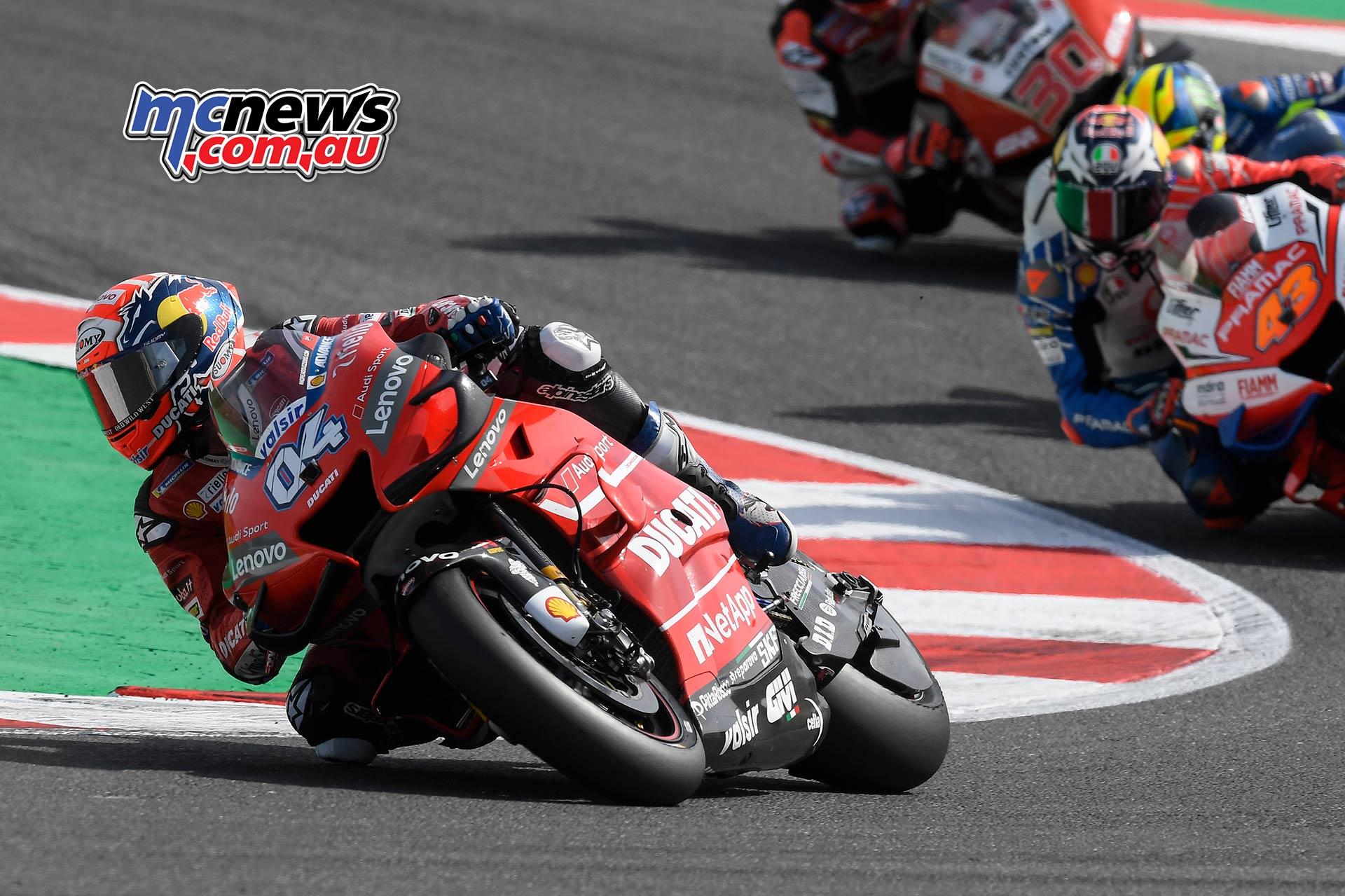 MotoGP Rnd Misano Dovizioso Miller