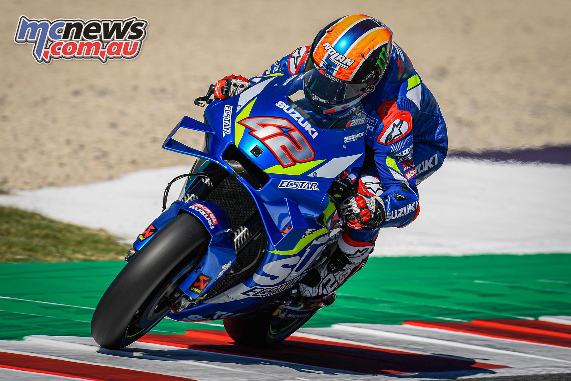 MotoGP Rnd Misano Fri Alex Rins