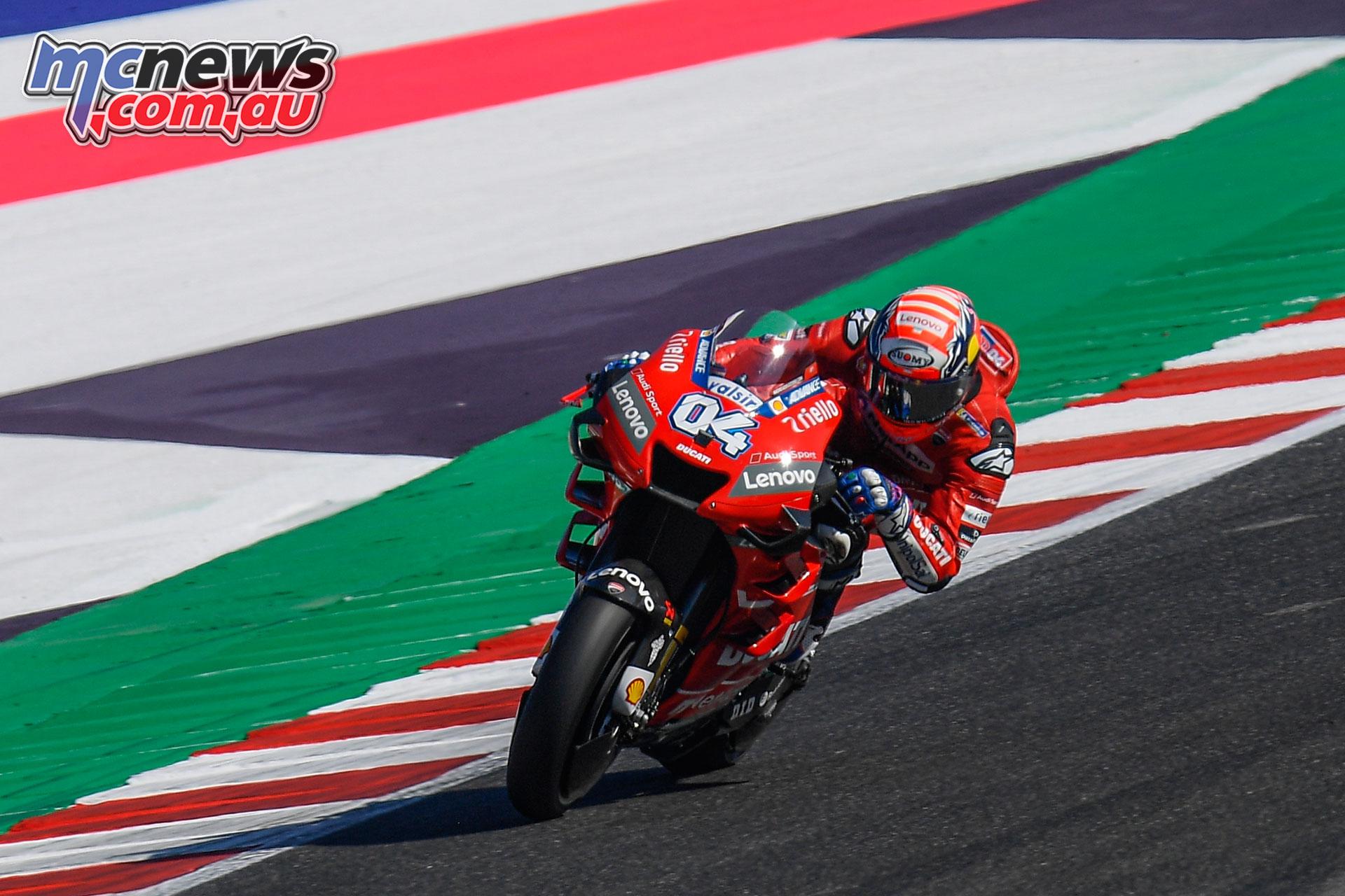 MotoGP Rnd Misano Fri Dovizioso
