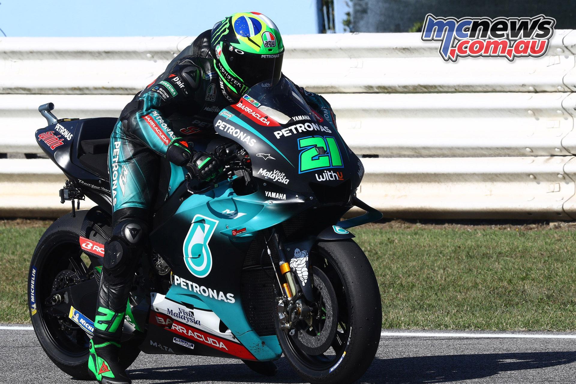 MotoGP Rnd Misano Fri Franco Morbidelli