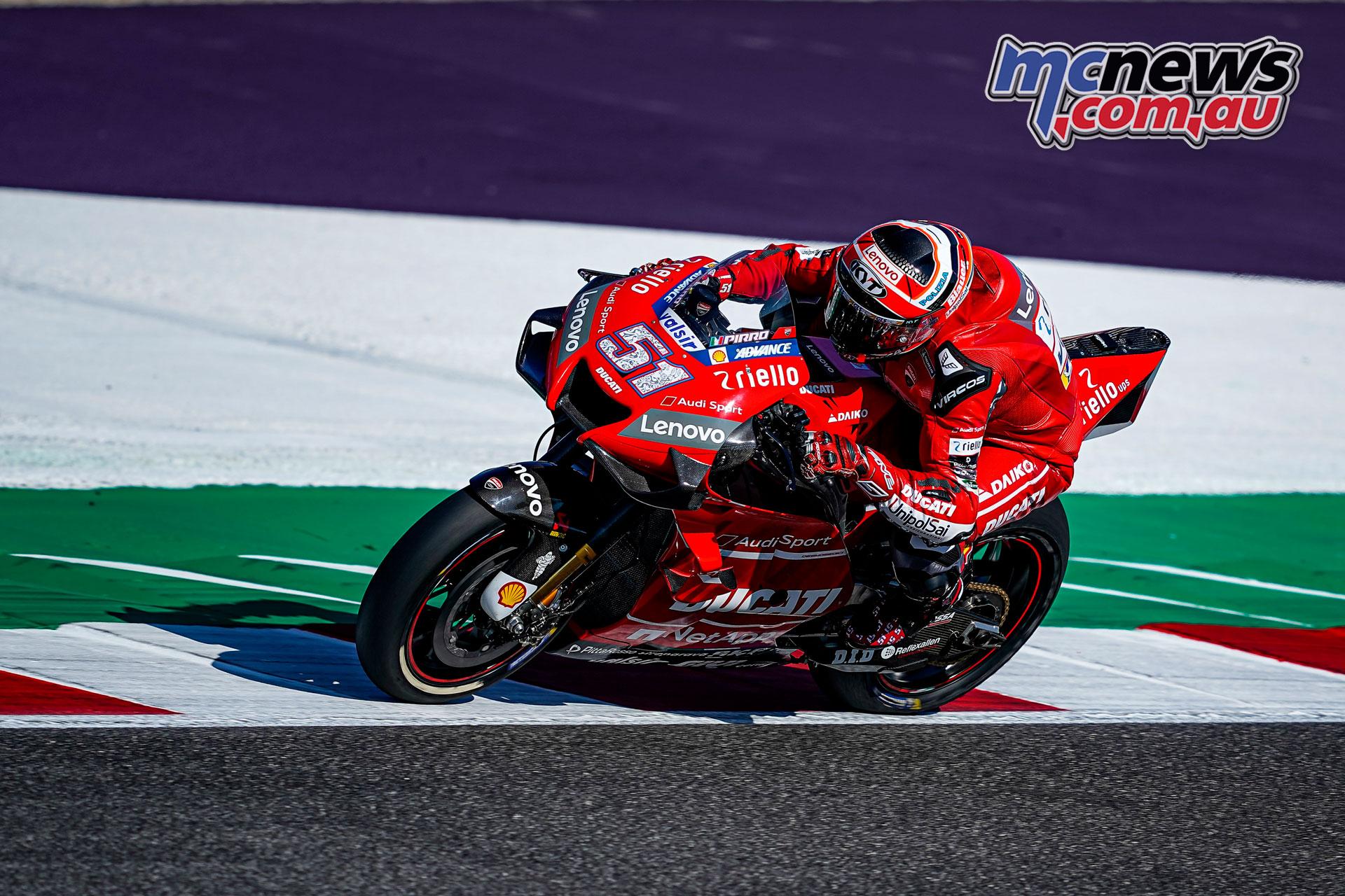 MotoGP Rnd Misano Fri Michele Pirro