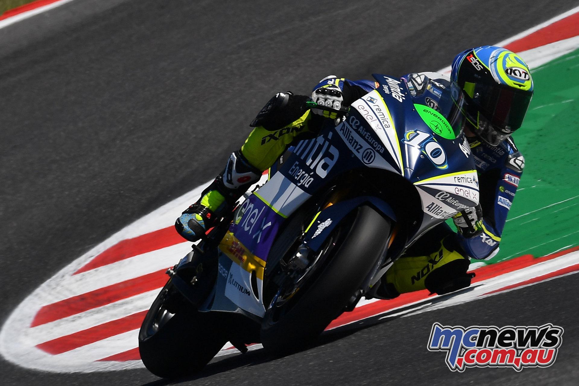MotoGP Rnd Misano Fri MotoE Simeon