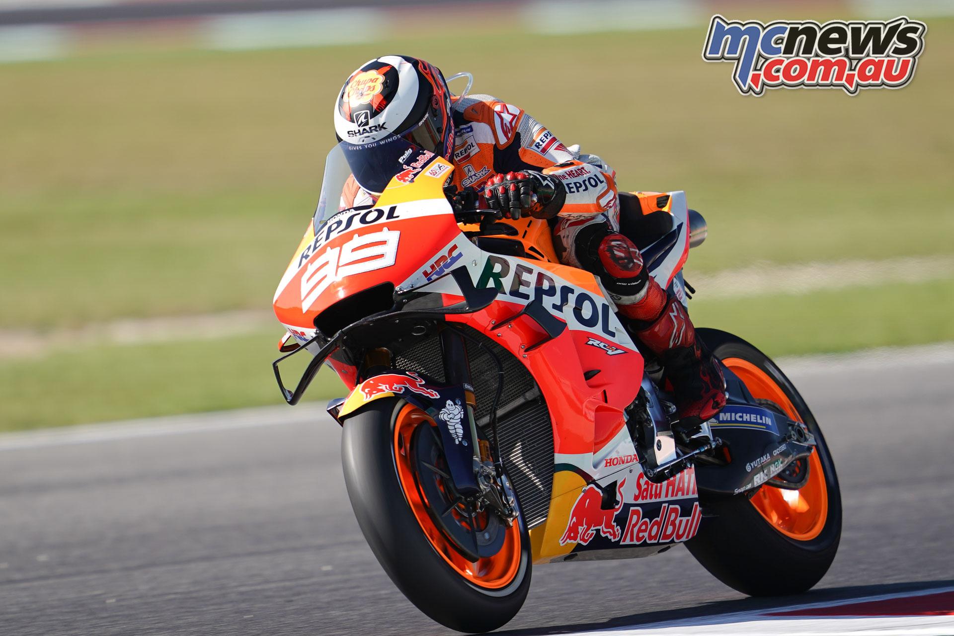 MotoGP Rnd Misano Fri lorenzo