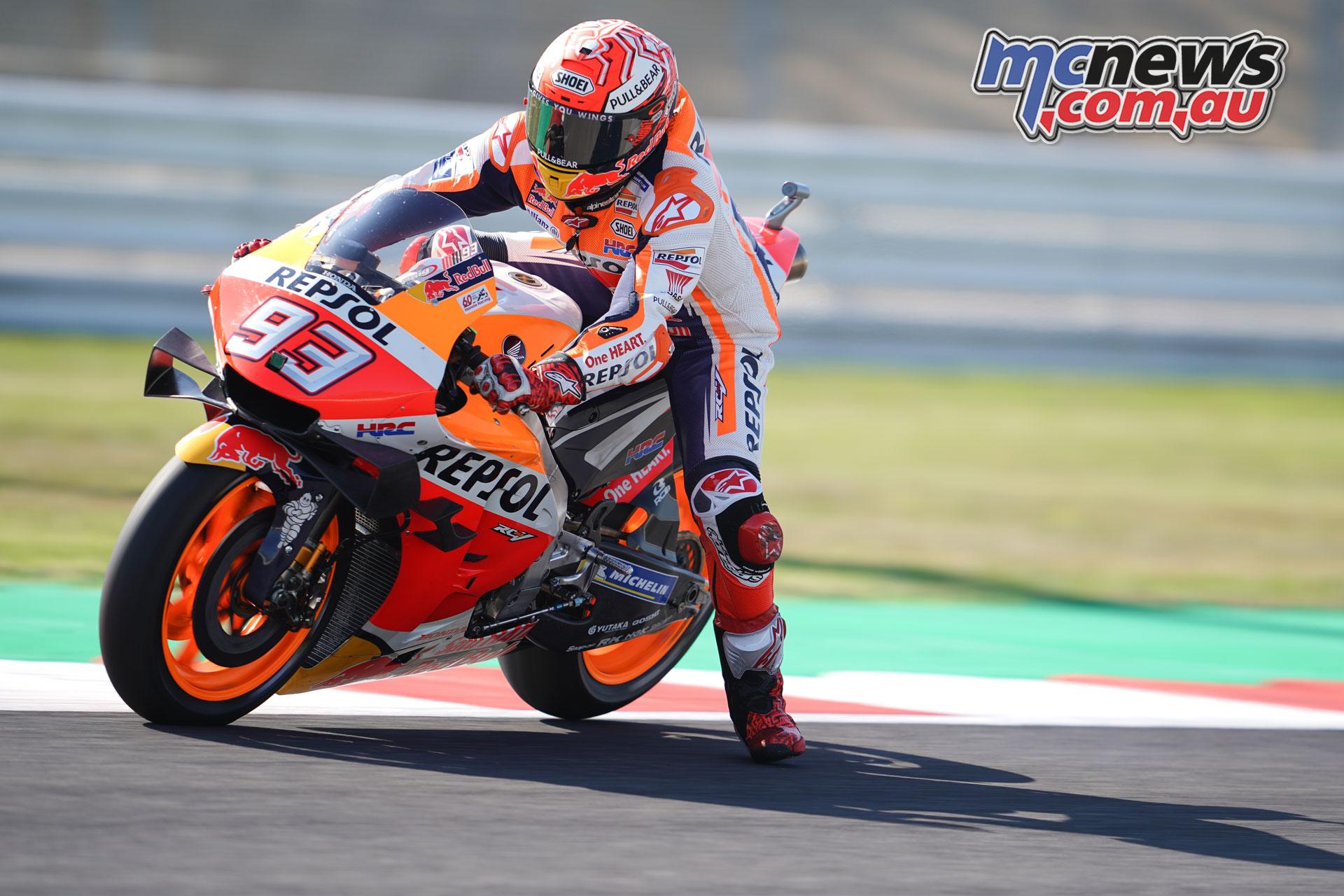 MotoGP Rnd Misano Fri marquez