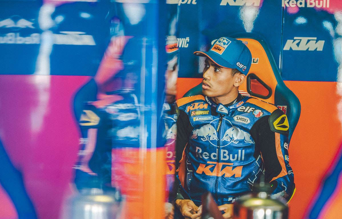 MotoGP Rnd Misano Hazifh Syahrin