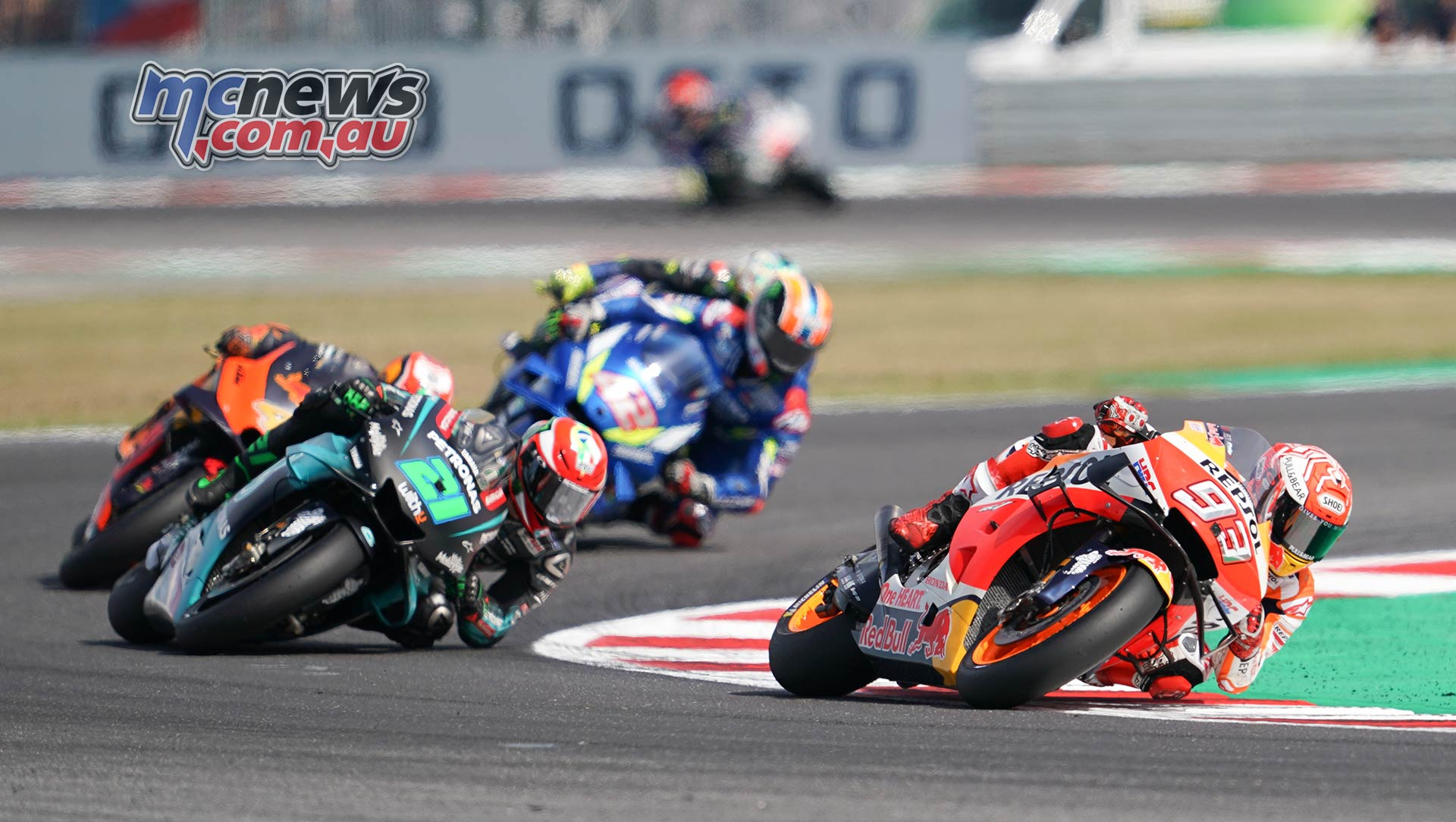 MotoGP Rnd Misano Marquez Morbidelli