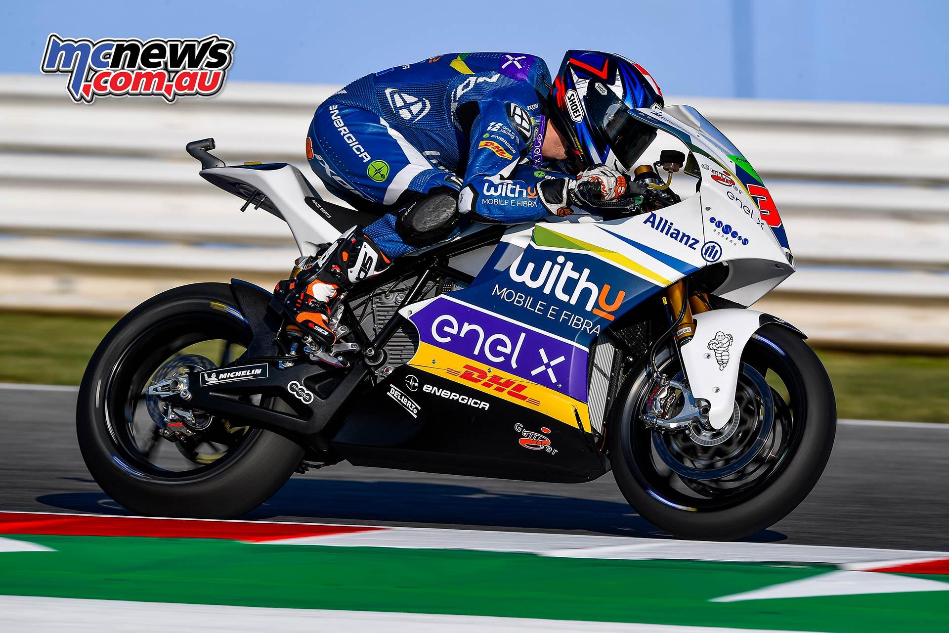 MotoGP Rnd Misano MotoE Bradley Smith