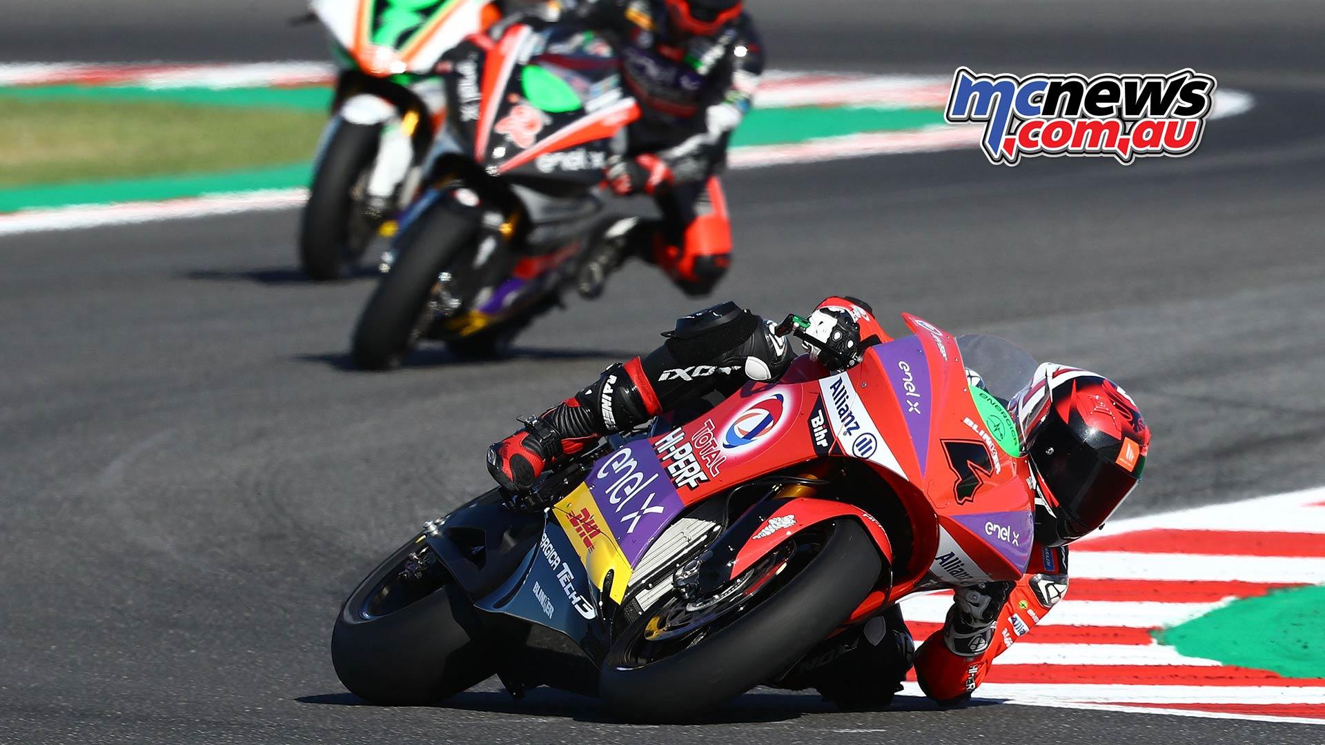 MotoGP Rnd Misano MotoE Hector Garzo