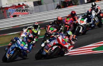 MotoGP Rnd Misano MotoE MotoE Race Early DeAngelis