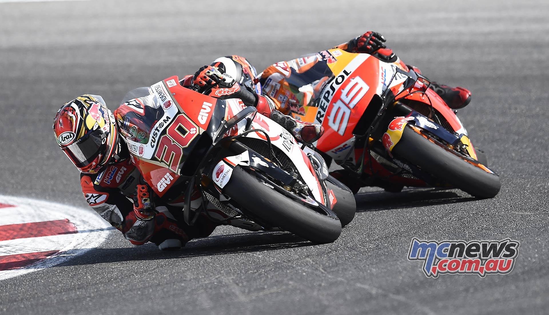 MotoGP Rnd Misano Nakagami Lorenzo