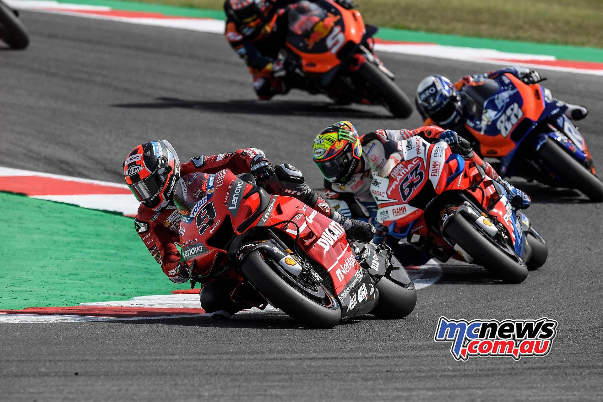 MotoGP Rnd Misano Petrucci Bagnaia