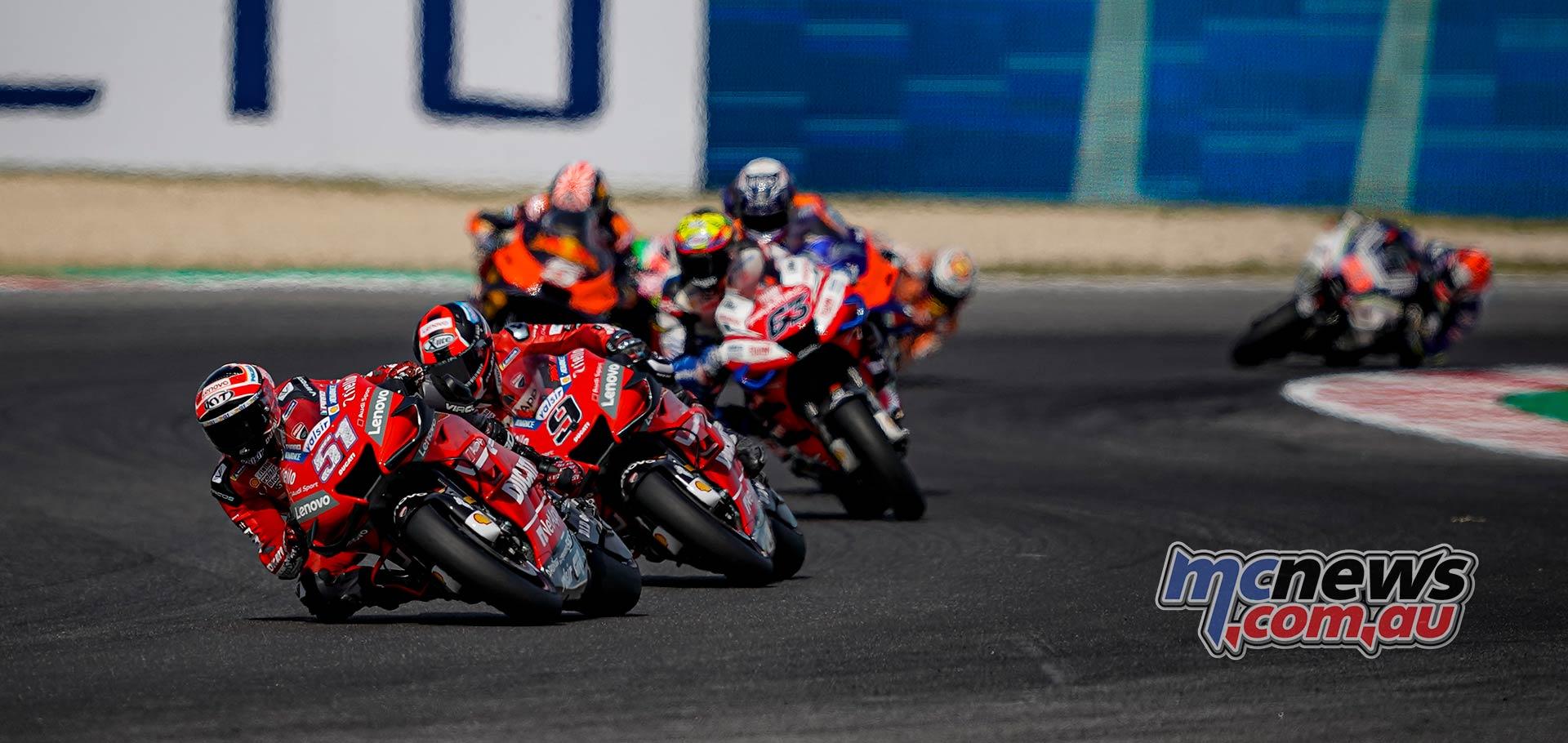 MotoGP Rnd Misano Pirro Petrucci Bagnaia