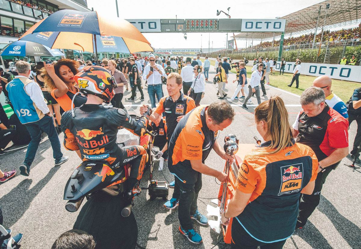 MotoGP Rnd Misano Pol Espargaro Grid