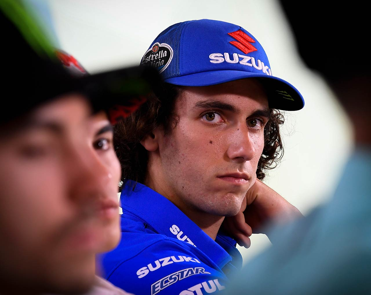 MotoGP Rnd Misano Presser Alex Rins