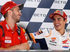 MotoGP Rnd Misano Presser Dovizioso Marquez