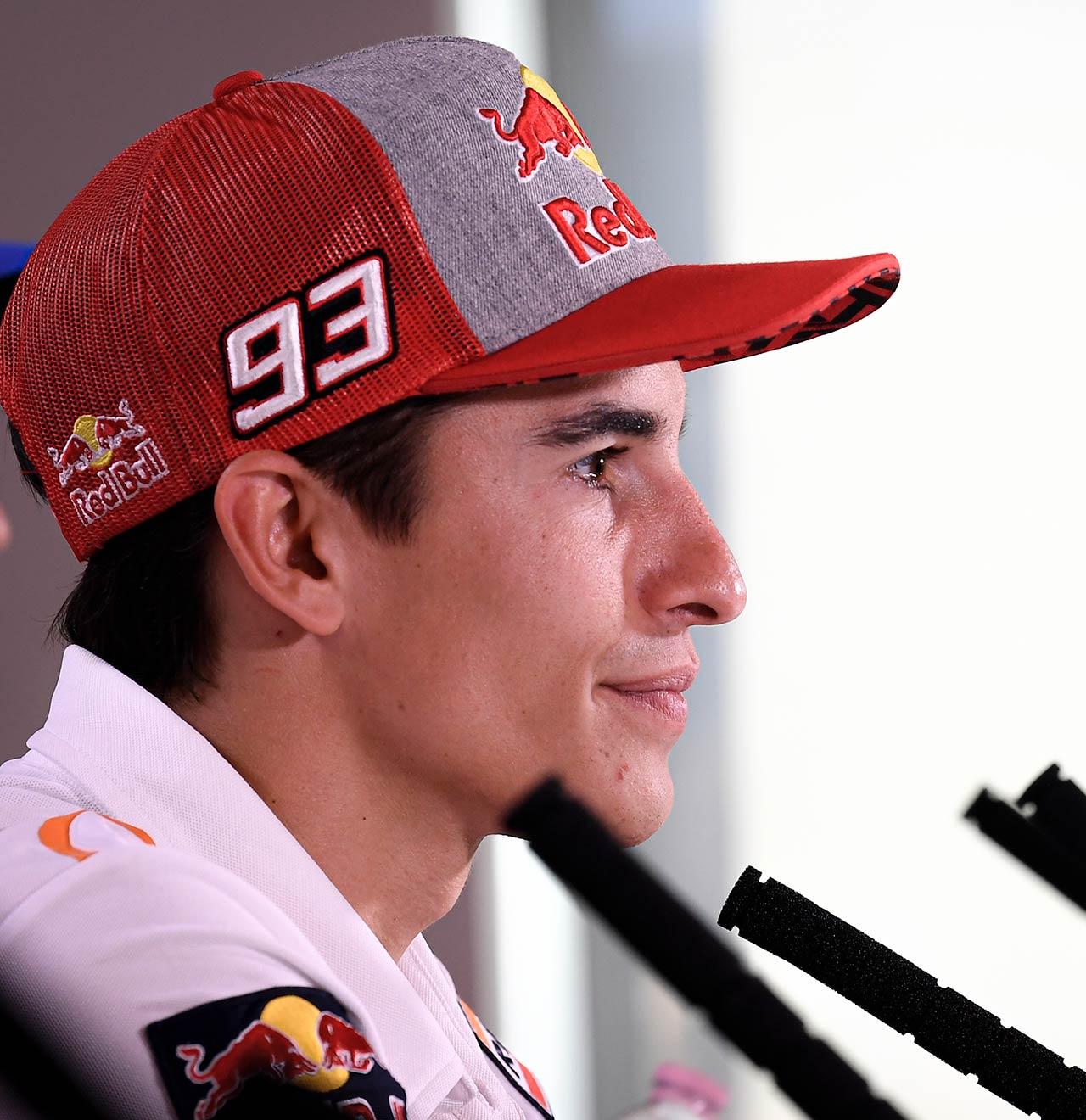 MotoGP Rnd Misano Presser Marquez