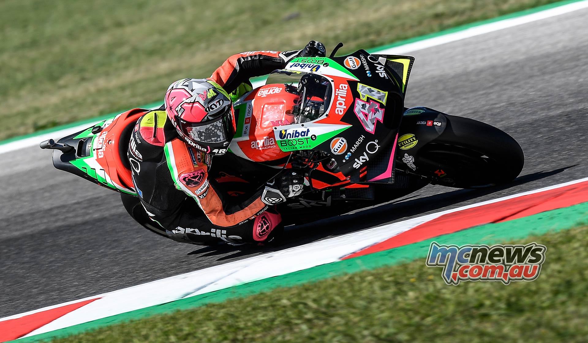 MotoGP Rnd Misano QP Aleix Espargaro