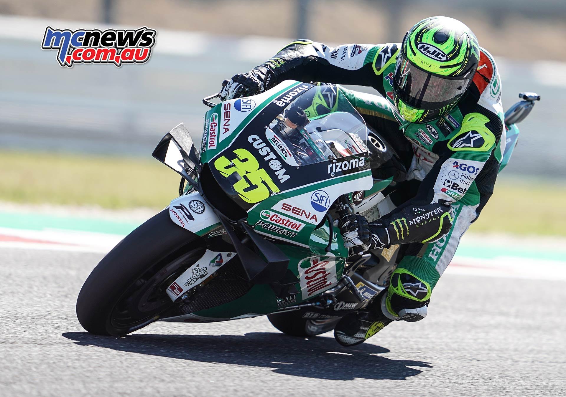 MotoGP Rnd Misano QP Crutchlow