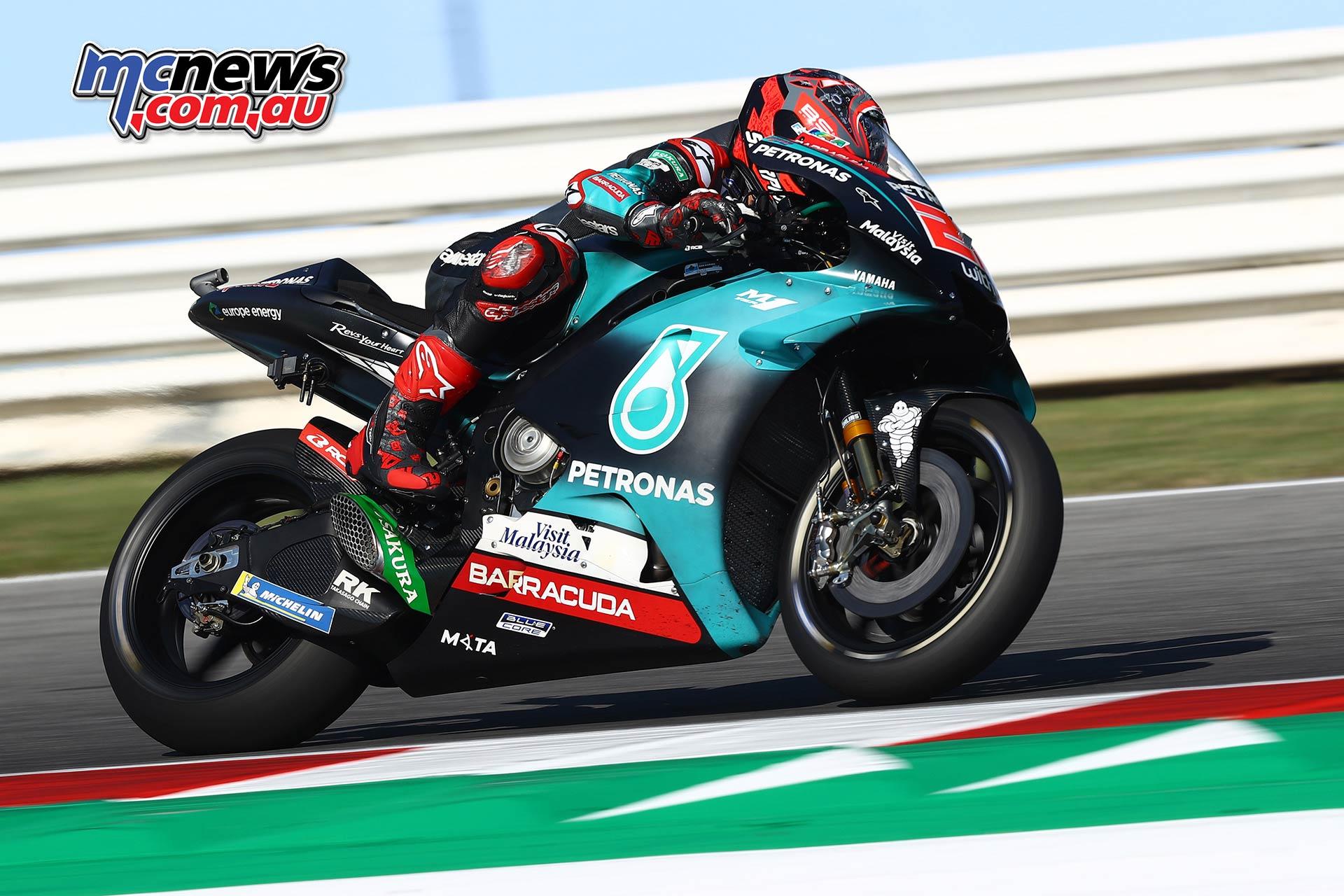 MotoGP Rnd Misano QP Fabio Quartararo