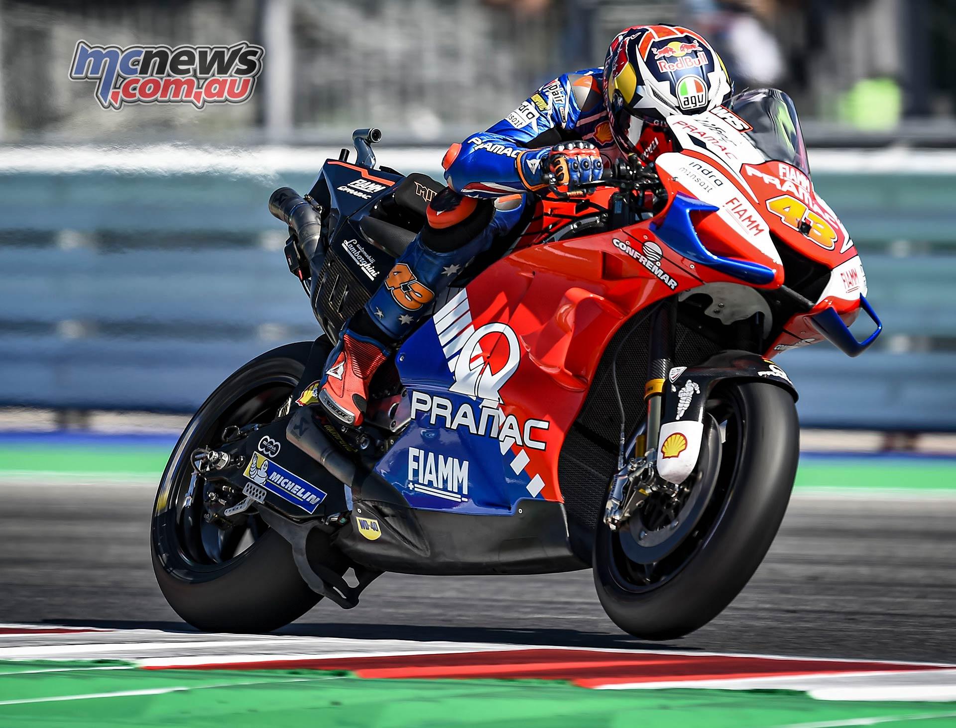 MotoGP Rnd Misano QP Jack Miller