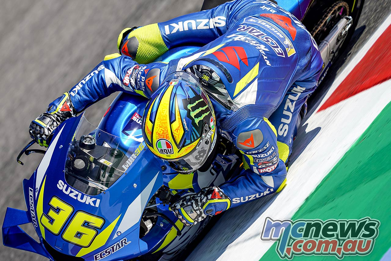 MotoGP Rnd Misano QP Joan Mir