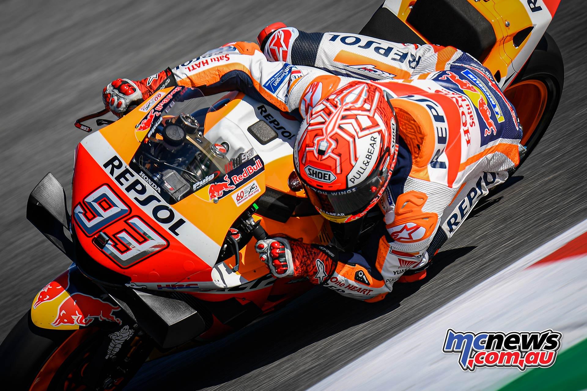MotoGP Rnd Misano QP Marc Marquez