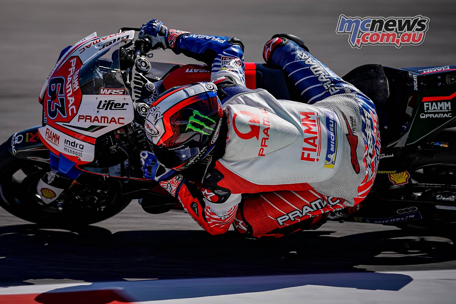 MotoGP Rnd Misano QP Pecco Bagnaia
