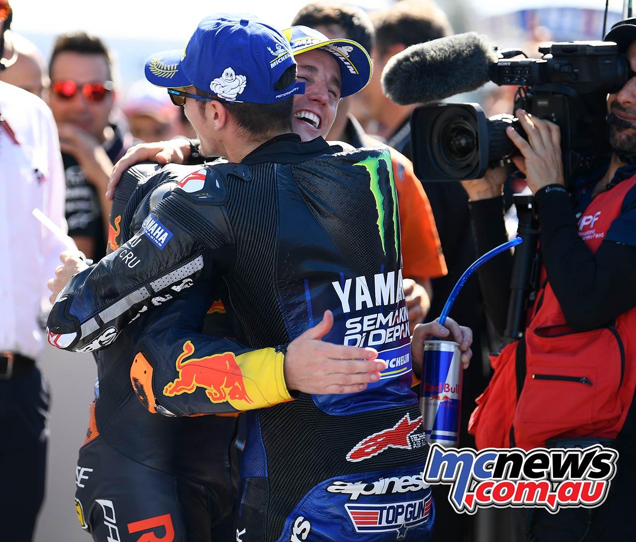 MotoGP Rnd Misano QP Pol Espargaro Vinales