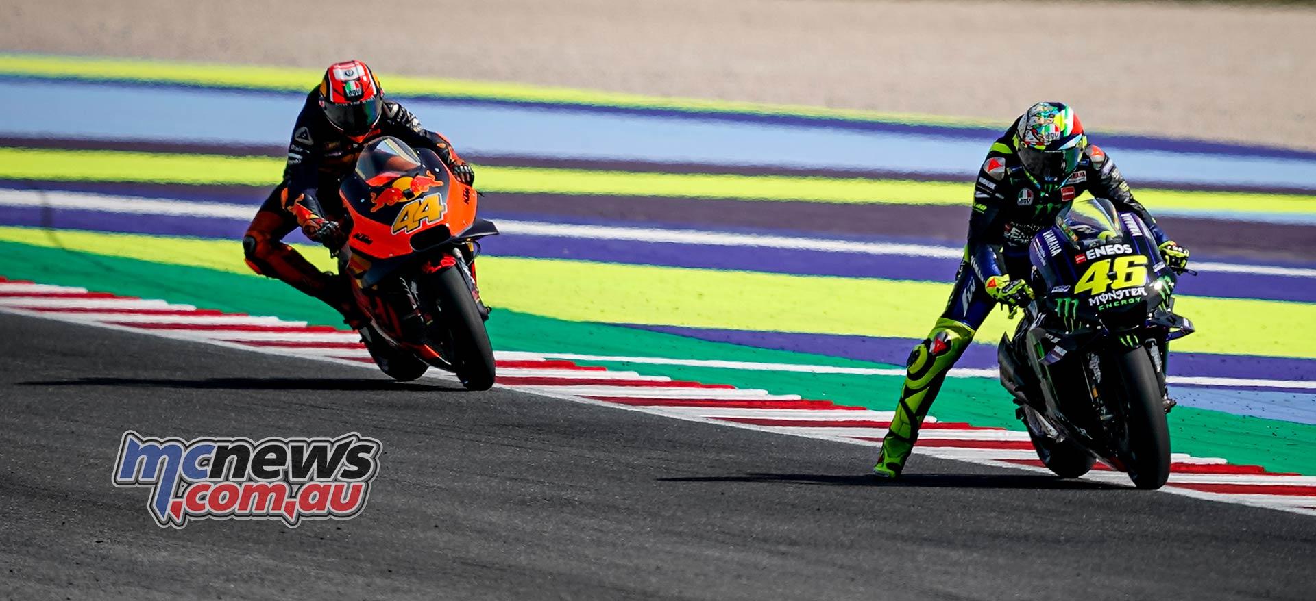 MotoGP Rnd Misano Rossi Espargaro