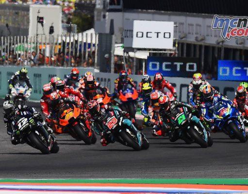 MotoGP Rnd Misano Start