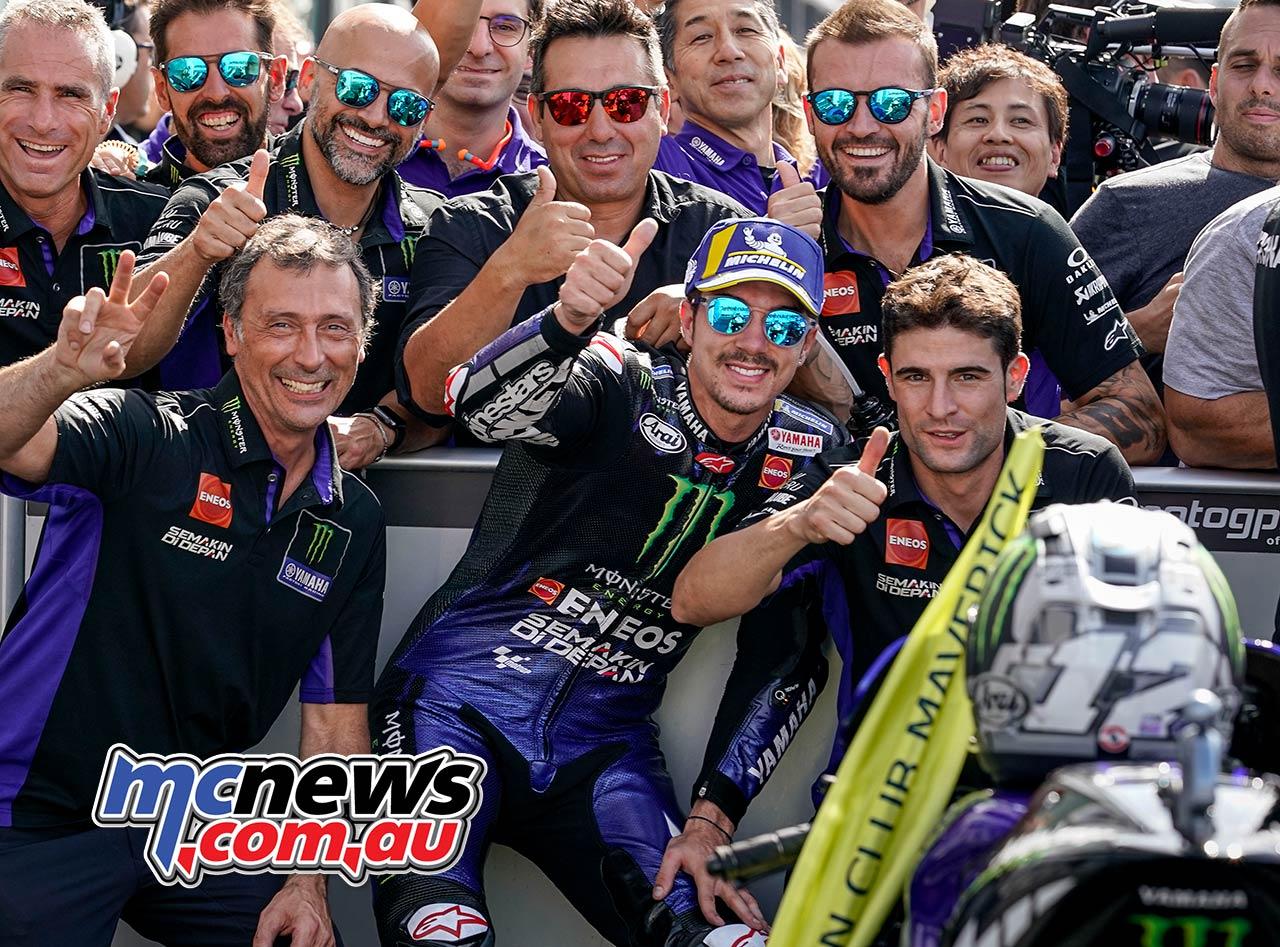 MotoGP Rnd Misano Vinales Pb