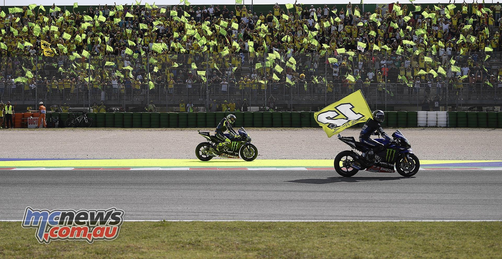 MotoGP Rnd Misano Vinales Rossi