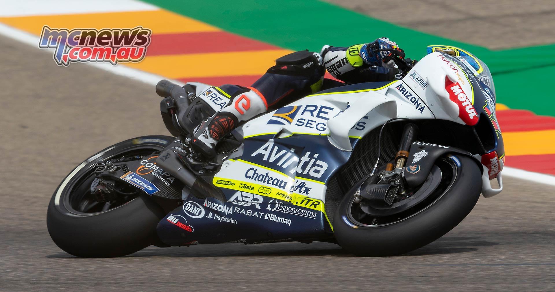 MotoGP Rnd Aragon Abraham
