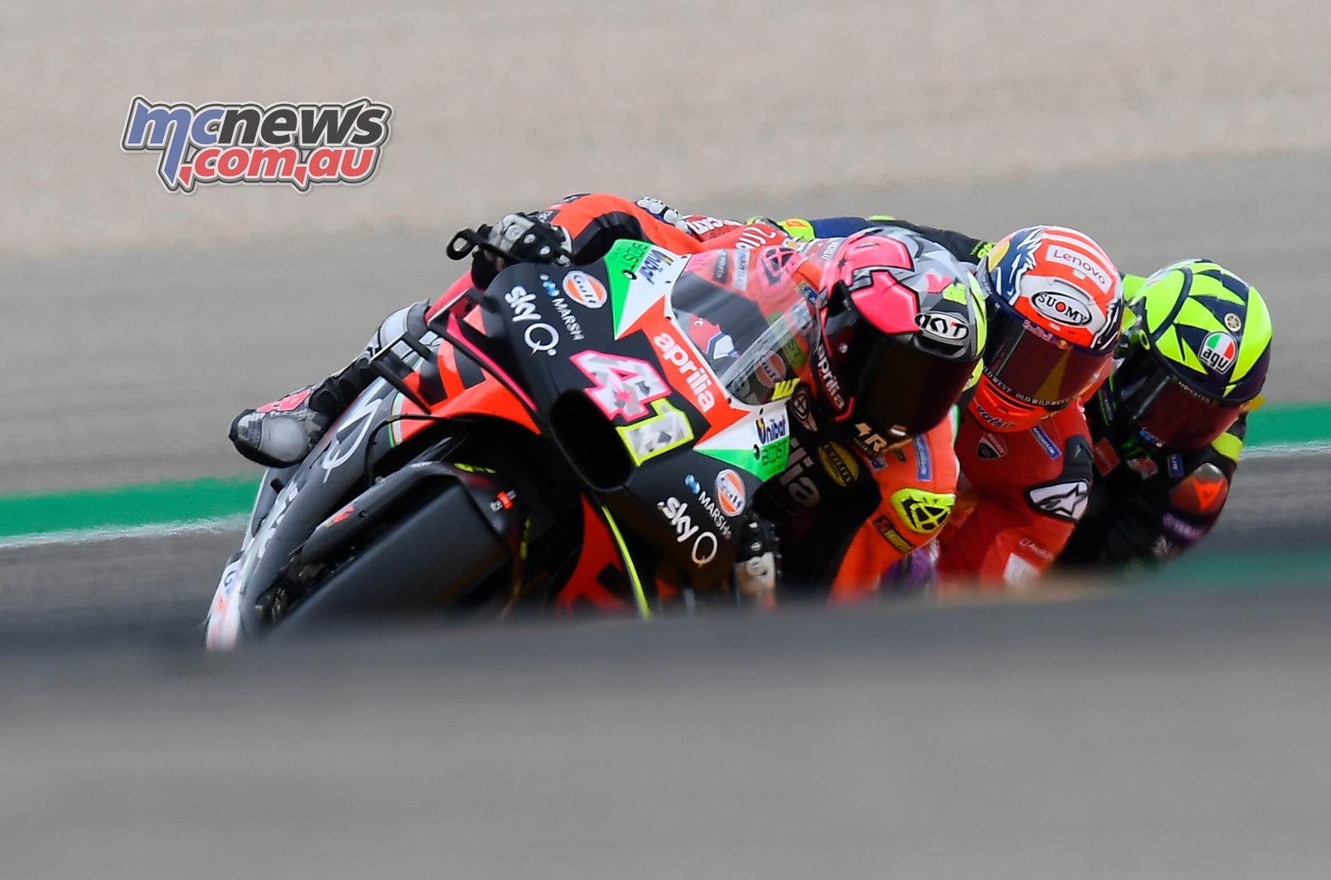 MotoGP Rnd Aragon Aleix Espargaro