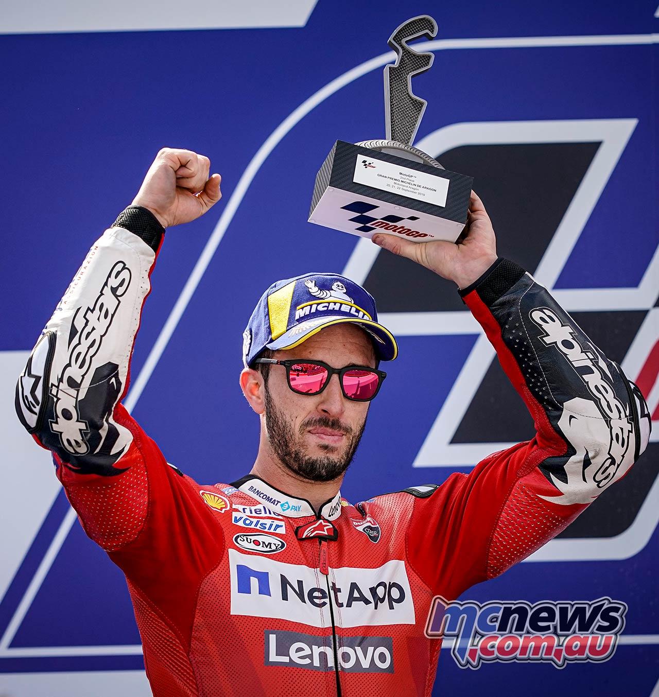 MotoGP Rnd Aragon Dovizioso Trophy