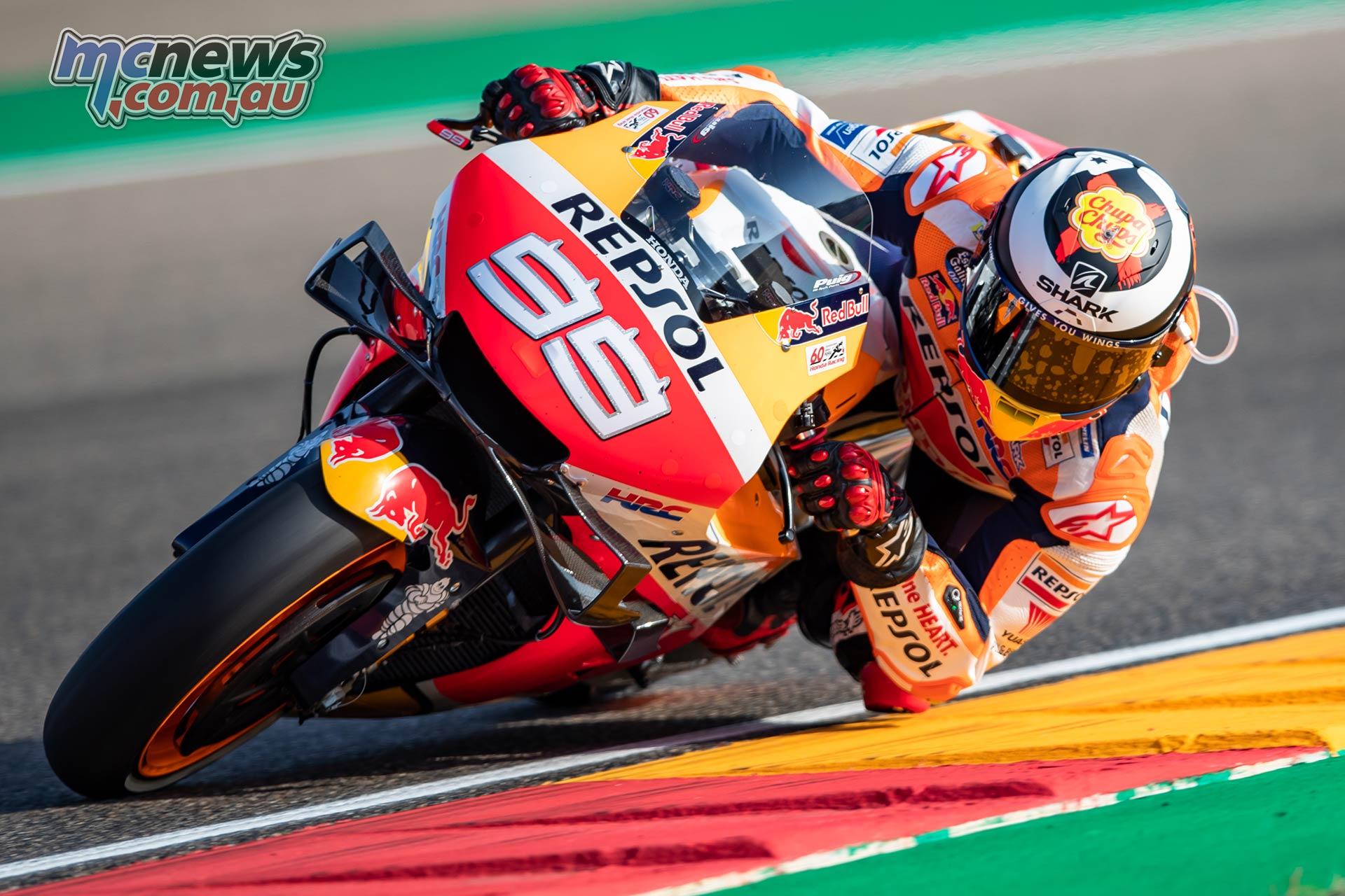 MotoGP Rnd Aragon Fri Lorenzo