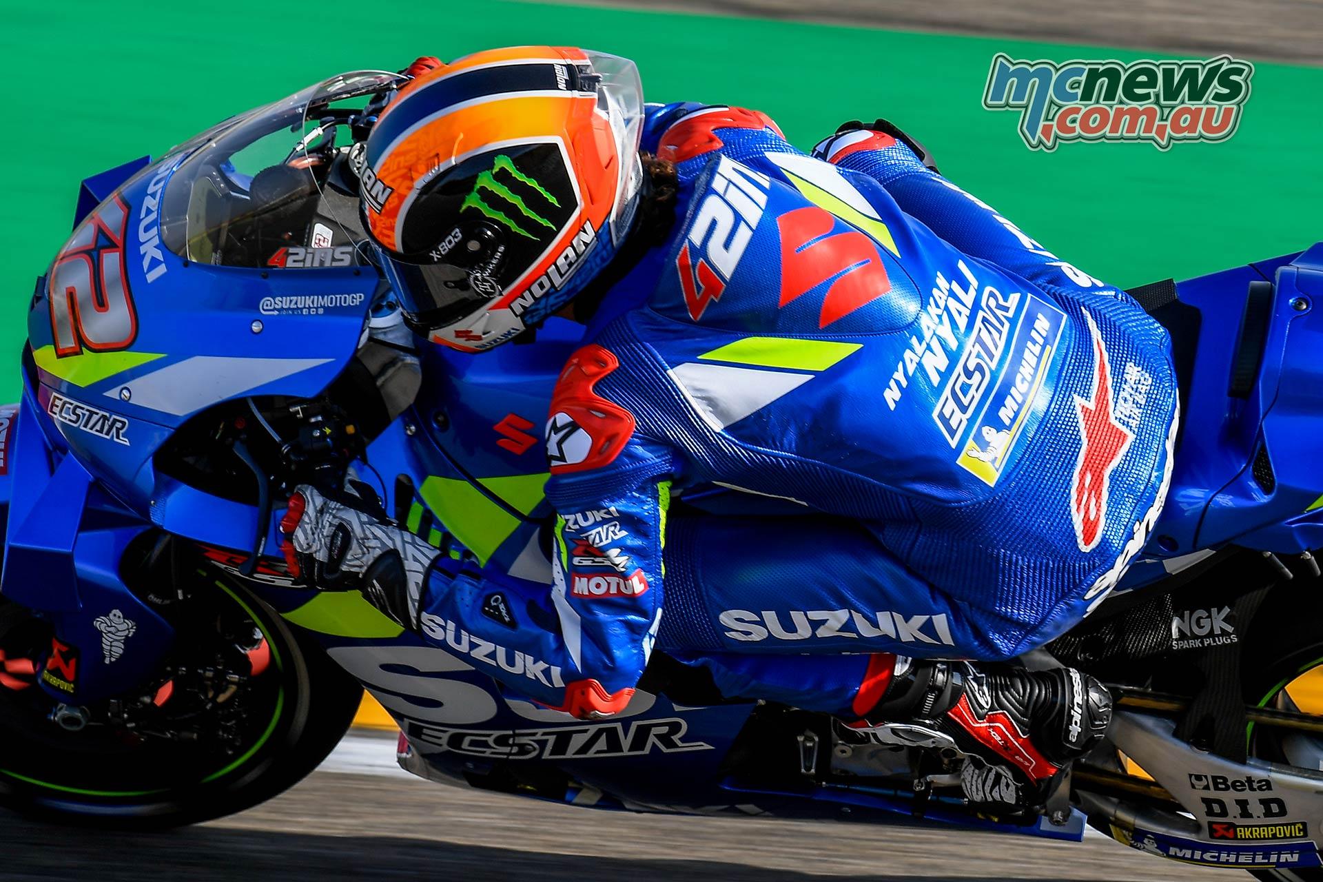 MotoGP Rnd Aragon Fri Rins