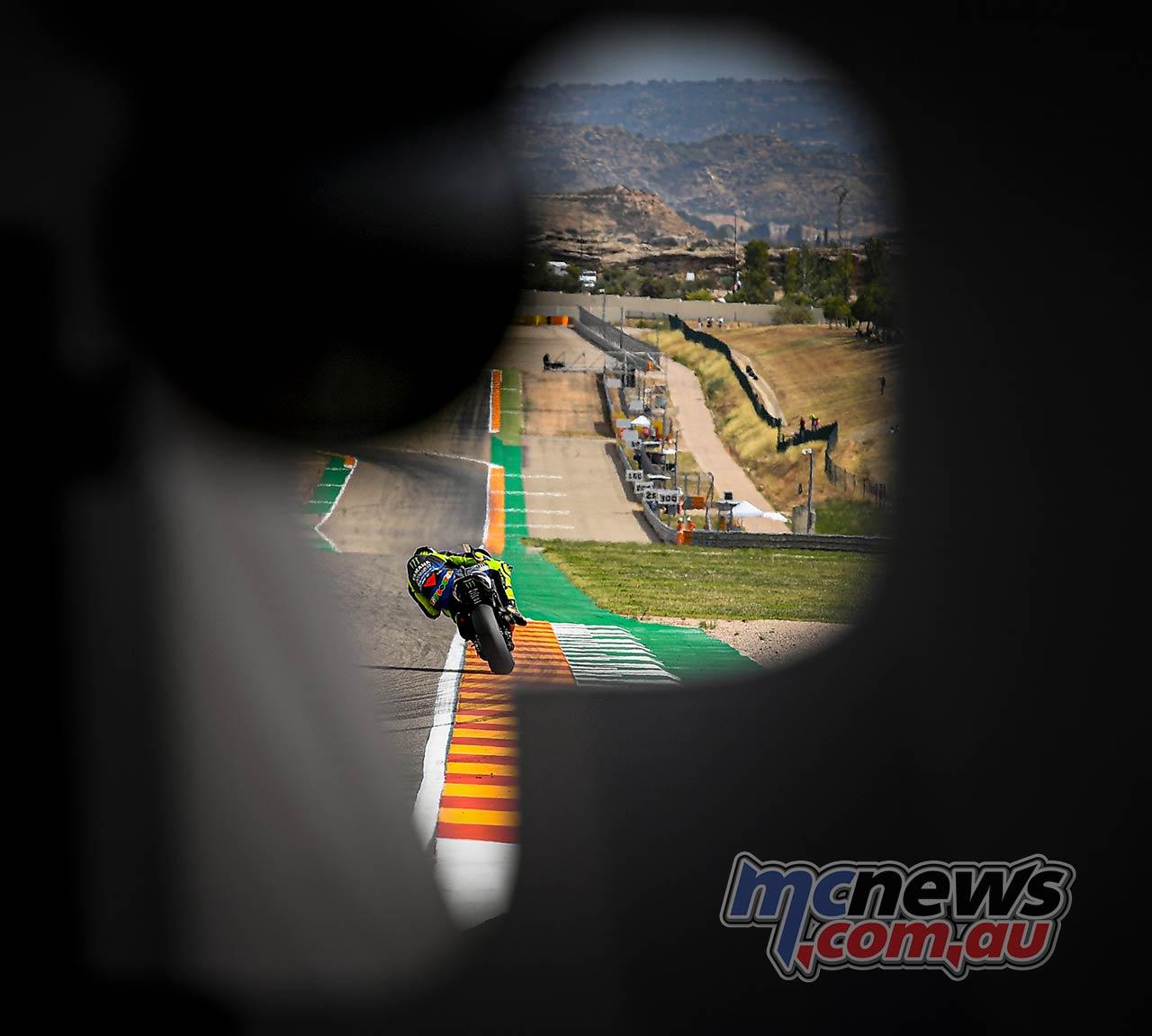 MotoGP Rnd Aragon Fri Rossi