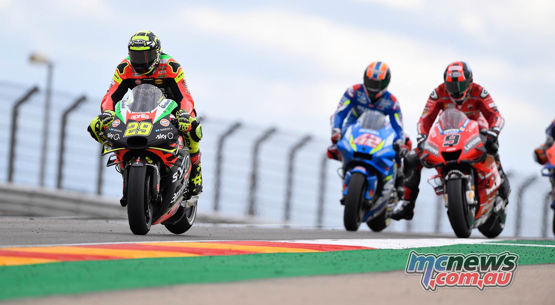 MotoGP Rnd Aragon Iannone