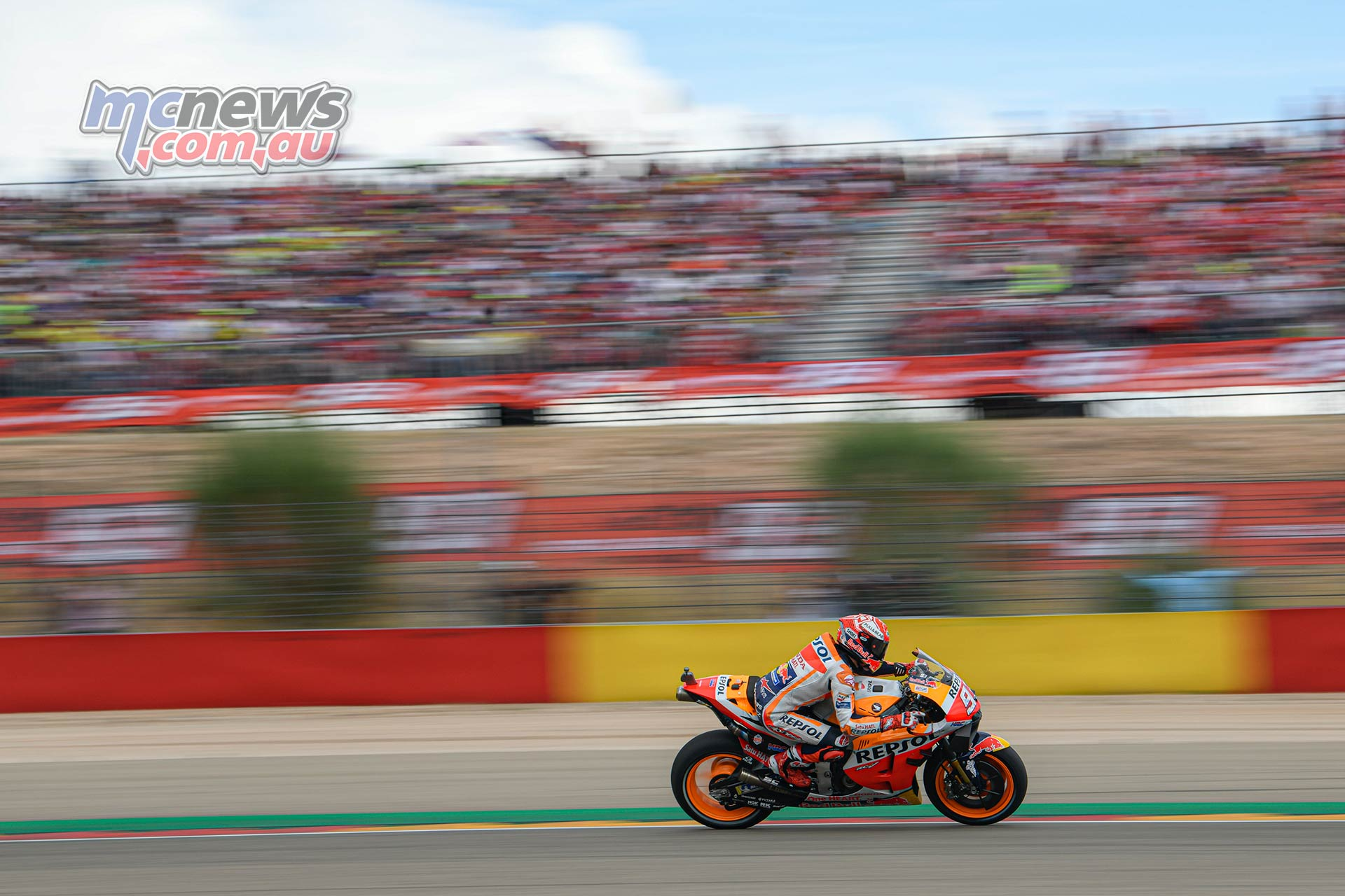 MotoGP Rnd Aragon Marquez