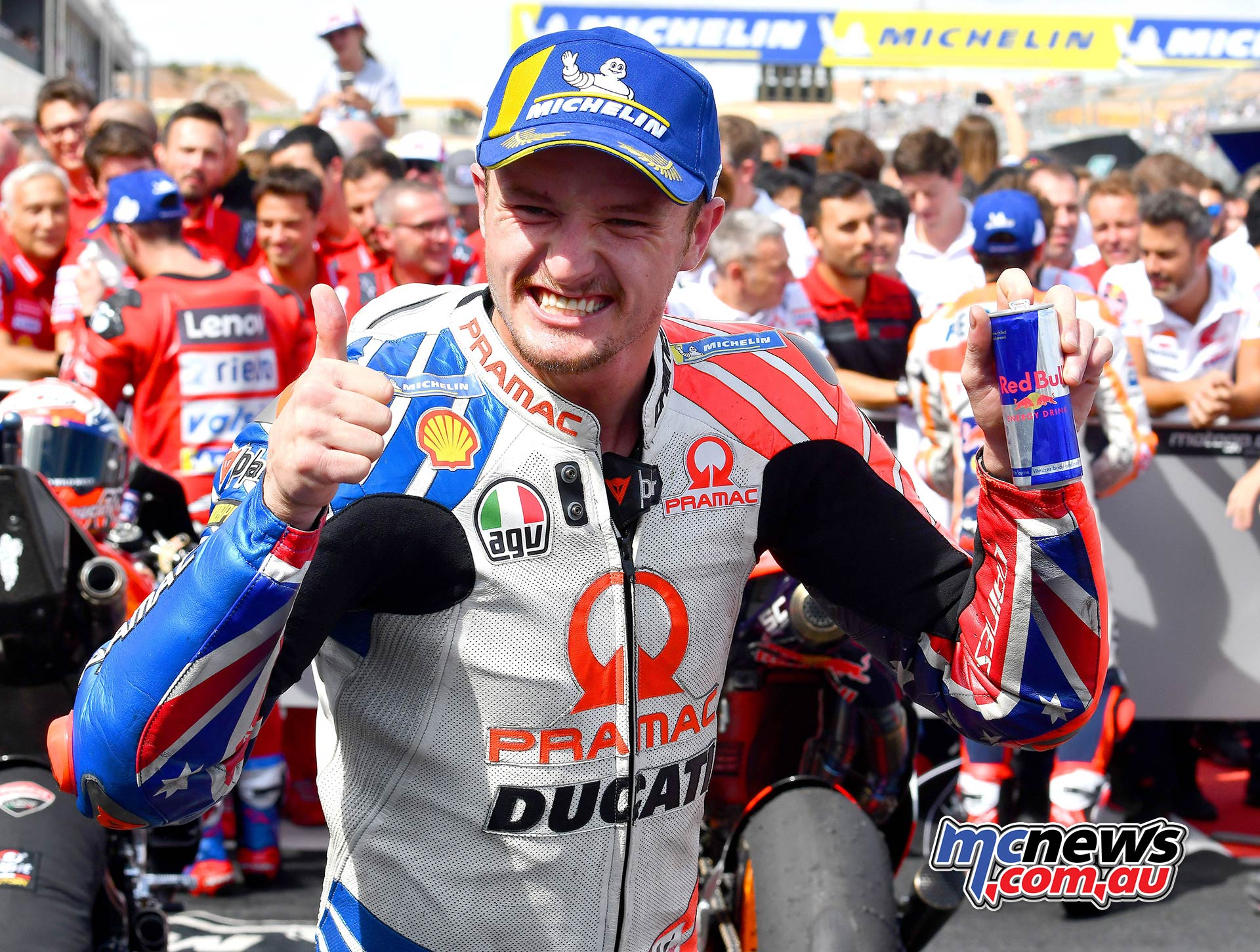 MotoGP Rnd Aragon Miller Celebrate P