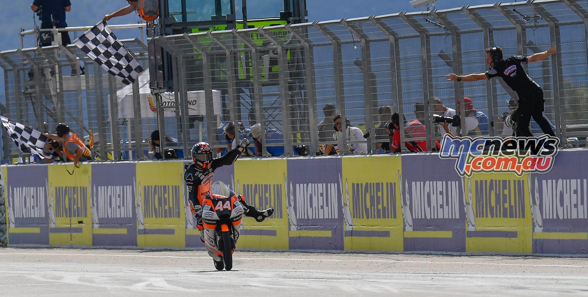 MotoGP Rnd Aragon Moto Aron Canet