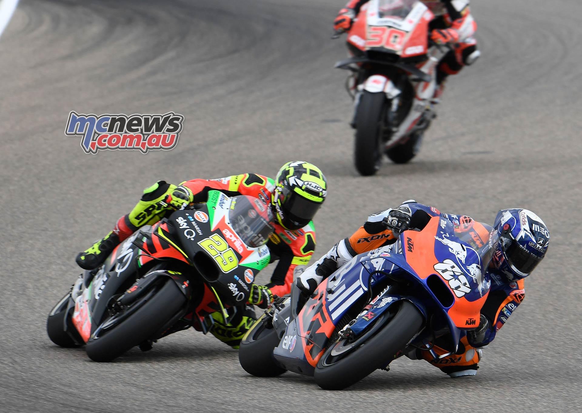 MotoGP Rnd Aragon Oliveira Iannone Nakagami