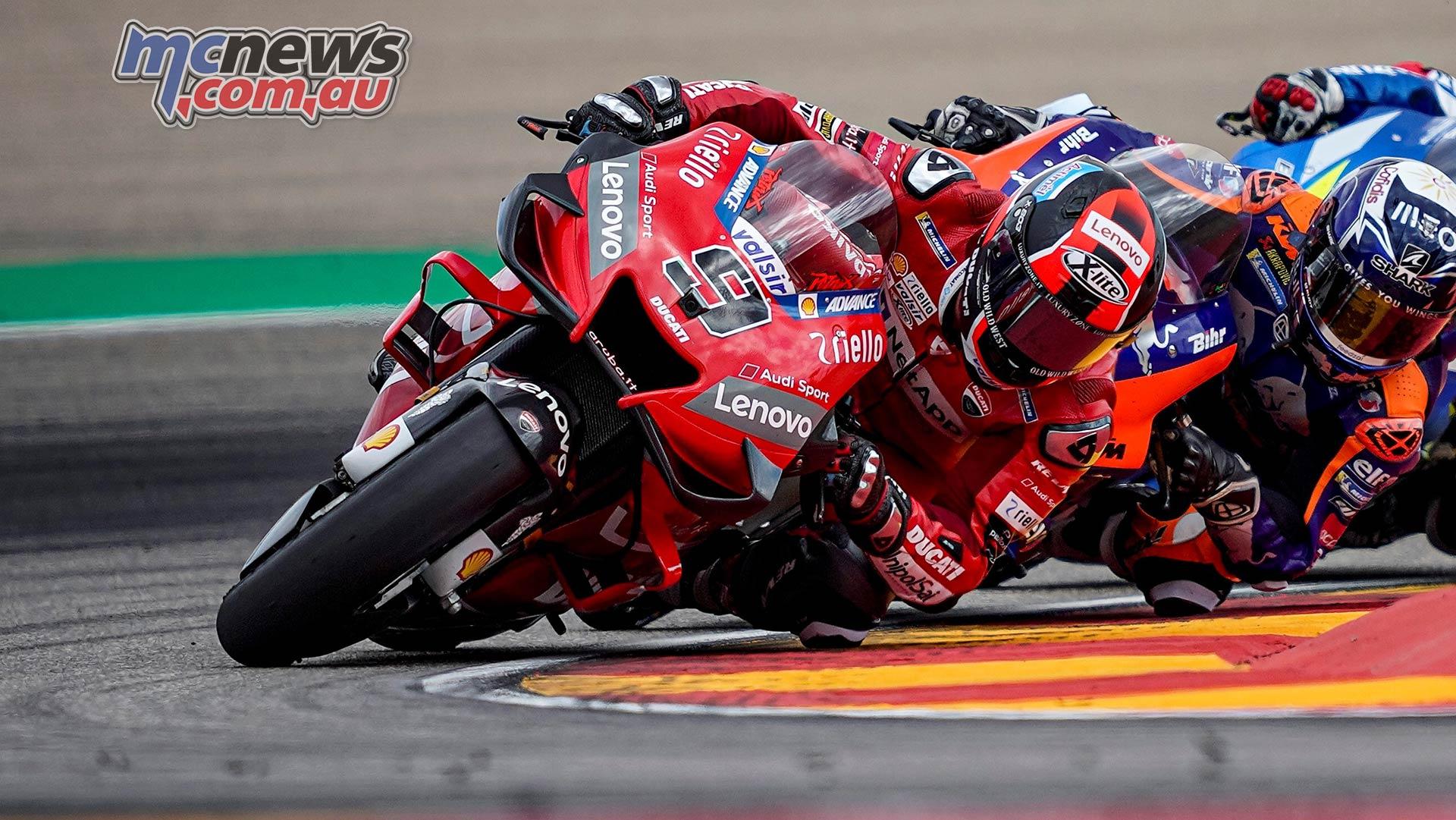 MotoGP Rnd Aragon Petrucci